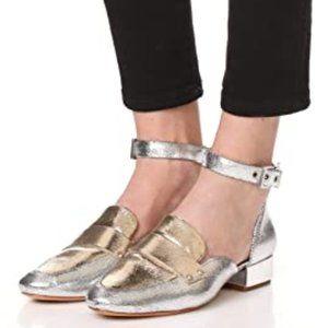 schutz ∙ moka ankle strap loafers